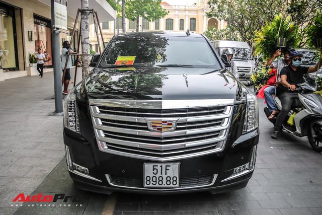 Cadillac Escalade 2015 biển khủng tứ quý 8 trên phố Sài Gòn - Ảnh 6.