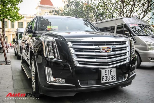 Cadillac Escalade 2015 biển khủng tứ quý 8 trên phố Sài Gòn - Ảnh 8.