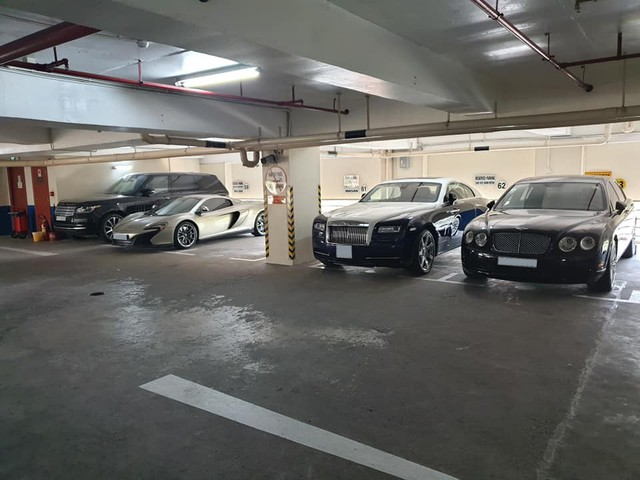 Hầm siêu xe, xe sang hàng triệu USD giữa lòng Sài Gòn - Ảnh 2.