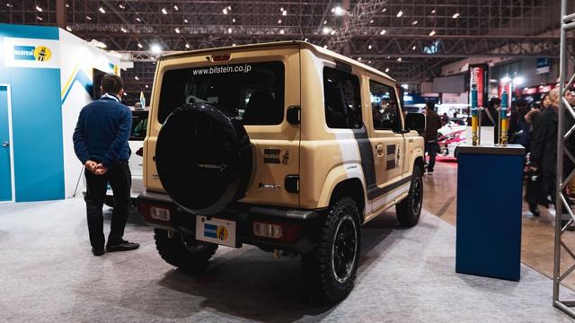 Mang ngoại hình như Mẹc G, Suzuki Jimny là xe mới được độ lại nhiều nhất - Ảnh 14.