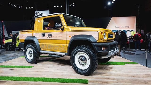 Mang ngoại hình như Mẹc G, Suzuki Jimny là xe mới được độ lại nhiều nhất - Ảnh 3.
