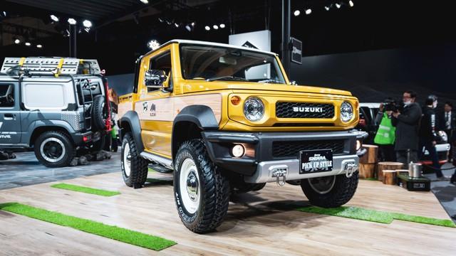 Mang ngoại hình như Mẹc G, Suzuki Jimny là xe mới được độ lại nhiều nhất - Ảnh 2.