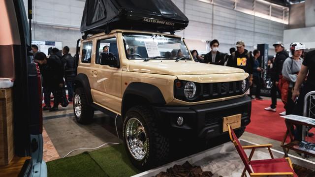 Mang ngoại hình như Mẹc G, Suzuki Jimny là xe mới được độ lại nhiều nhất - Ảnh 8.