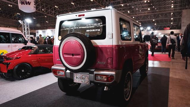 Mang ngoại hình như Mẹc G, Suzuki Jimny là xe mới được độ lại nhiều nhất - Ảnh 5.