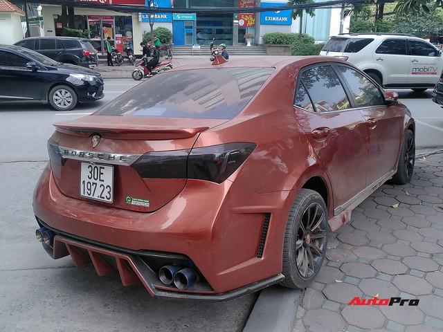 Thích sang như Porsche, thể thao như Ford Focus RS, mà vẫn ăn chắc mặc bền, chủ Corolla Altis tại Hà Nội độ xe theo phong cách lạ - Ảnh 6.