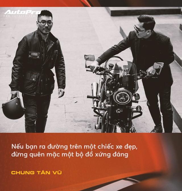 Anh chàng thích mua xe cũ, hay hỏng vặt, hiếm phụ tùng nhưng chuyên mặc vest tại Hà Nội: Đừng nghĩ đi ô tô mới được mặc đẹp Tết này - Ảnh 4.