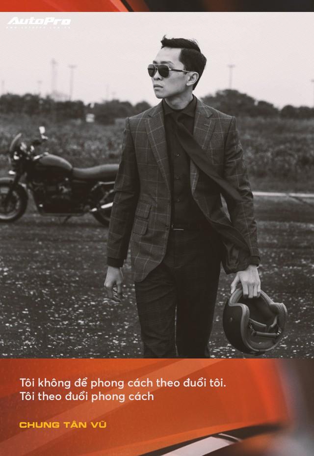 Anh chàng thích mua xe cũ, hay hỏng vặt, hiếm phụ tùng nhưng chuyên mặc vest tại Hà Nội: Đừng nghĩ đi ô tô mới được mặc đẹp Tết này - Ảnh 6.