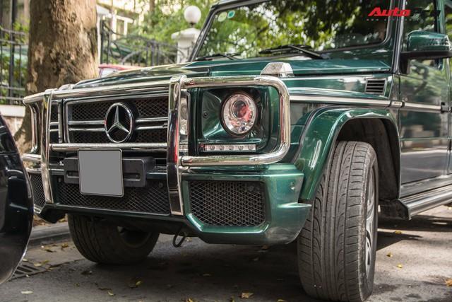 Chi tiết này giúp chiếc Mercedes-AMG G63 7 tỷ của đại gia Hà Nội dù cũ nhưng vẫn cuốn hút và độc nhất Việt Nam - Ảnh 4.