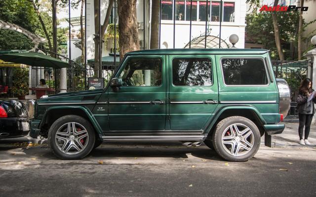 Chi tiết này giúp chiếc Mercedes-AMG G63 7 tỷ của đại gia Hà Nội dù cũ nhưng vẫn cuốn hút và độc nhất Việt Nam - Ảnh 6.