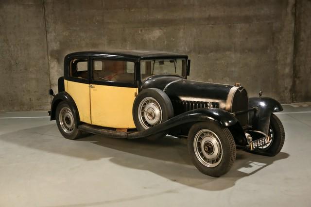 Khai quật bộ sưu tập Bugatti triệu đô của nghệ sĩ nghèo - Ảnh 1.