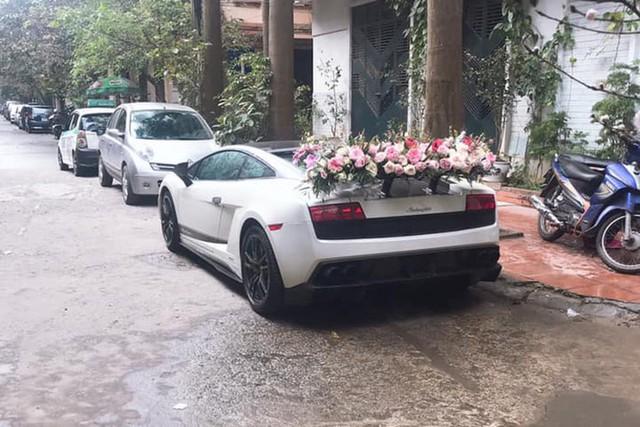 Lamborghini Gallardo Superleggera độc nhất Việt Nam làm xe dâu và hình ảnh khiến nhiều người cảm thấy sợ hãi - Ảnh 1.