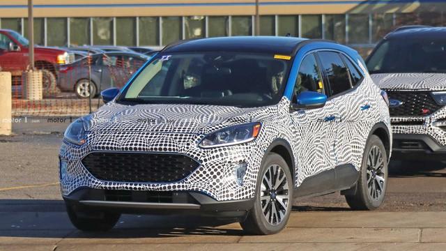 Lộ ảnh nóng Ford Escape 2020 ra mắt cuối năm nay - Ảnh 1.