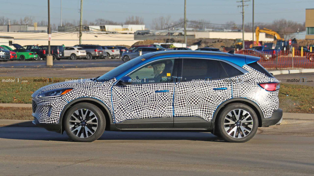 Lộ ảnh nóng Ford Escape 2020 ra mắt cuối năm nay - Ảnh 2.