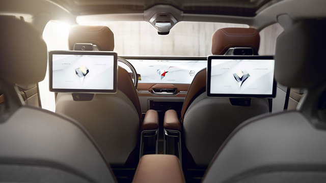Nội thất xe Trung Quốc sở hữu màn hình to gấp 7 lần iPad trình làng - Ảnh 3.