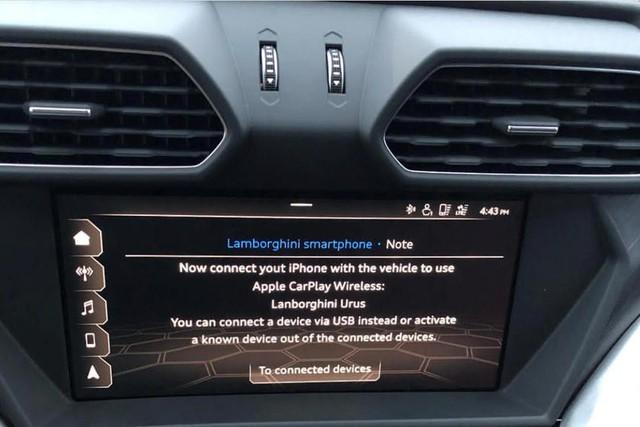 Lamborghini Urus bị nhiều chủ xe chê bai về phần mềm mới - Ảnh 1.