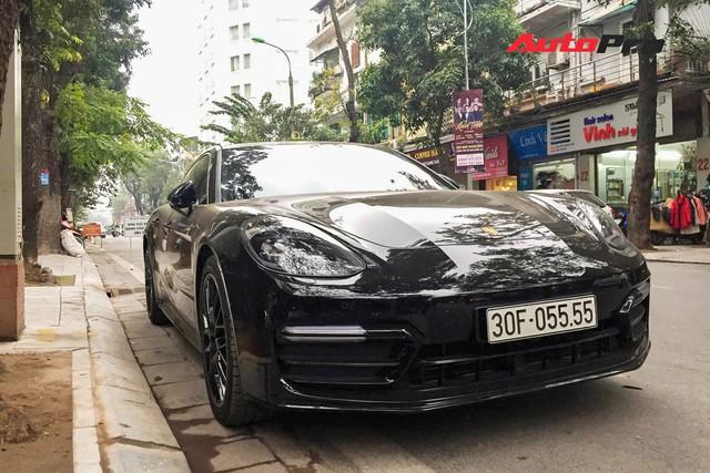 Porsche Panamera biển tứ quý 5 bản độ hàng trăm triệu đồng của dân chơi Hà thành - Ảnh 1.