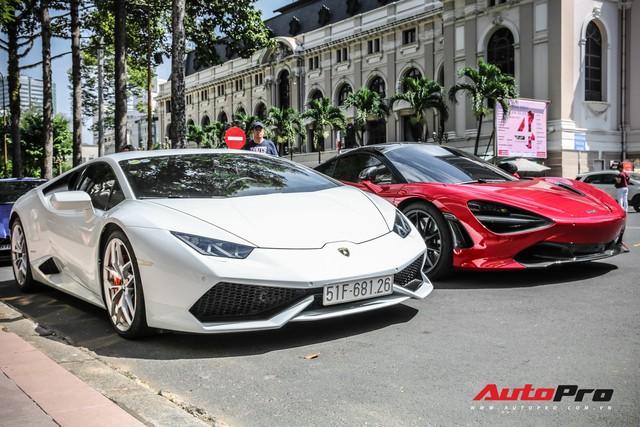 Dàn siêu xe đủ sắc màu tập trung tại Sài Gòn dịp đầu năm - Ảnh 12.
