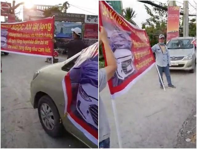 Xôn xao clip nữ nhân viên đại lý xe ô tô Hyundai vén váy, tranh cãi gay gắt với khách hàng - Ảnh 7.