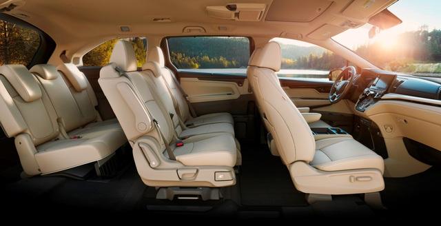 Honda Odyssey lần đầu lộ diện phiên bản mới, cạnh tranh Kia Sedona - Ảnh 4.