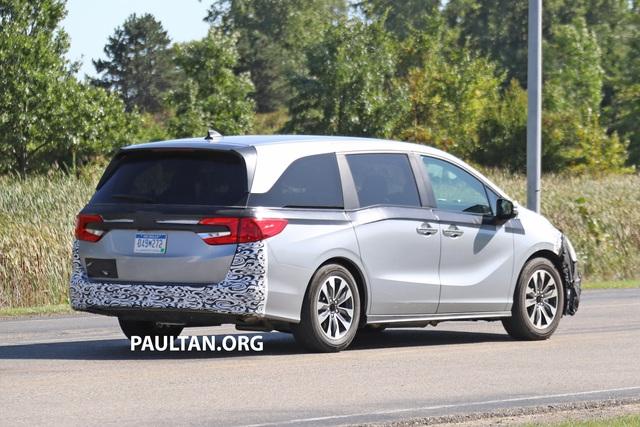 Honda Odyssey lần đầu lộ diện phiên bản mới, cạnh tranh Kia Sedona - Ảnh 2.