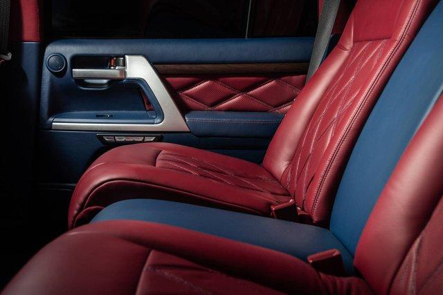 Toyota Land Cruiser độ xuất sắc: Dùng ghế BMW 7-Series, nội thất ngang chuẩn Lexus - Ảnh 8.