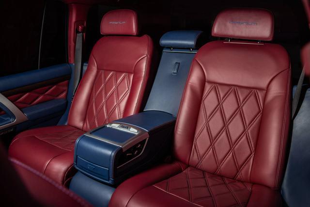 Toyota Land Cruiser độ xuất sắc: Dùng ghế BMW 7-Series, nội thất ngang chuẩn Lexus - Ảnh 7.