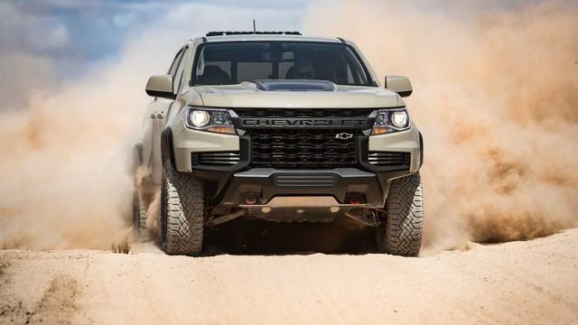 Ra mắt Chevrolet Colorado 2021: Siêu đẹp, chờ về Việt Nam đấu Ford Ranger - Ảnh 1.