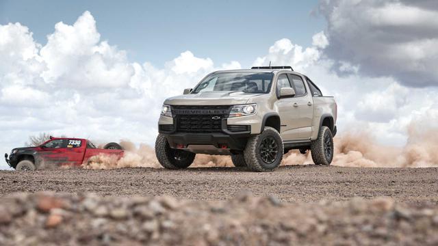 Ra mắt Chevrolet Colorado 2021: Siêu đẹp, chờ về Việt Nam đấu Ford Ranger - Ảnh 4.