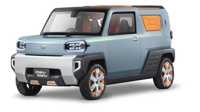 Thương hiệu con của Toyota hé lộ SUV dị đấu Suzuki Jimny - Ảnh 1.