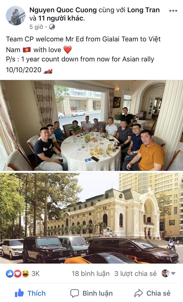 Cường Đô-la cùng dàn siêu xe Car Passion hội ngộ thành viên Gia Lai Team, đếm ngược một năm trước hành trình ASEAN Rally 2020 - Ảnh 2.