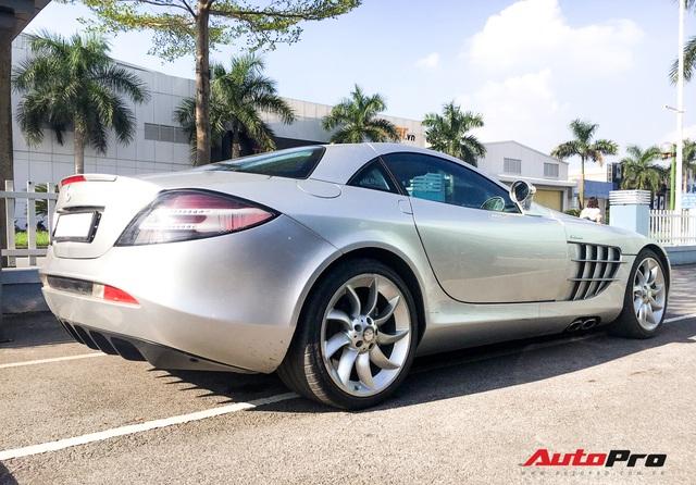 Bắt gặp Mercedes-Benz SLR McLaren độc nhất Việt Nam đi bảo dưỡng - Ảnh 5.