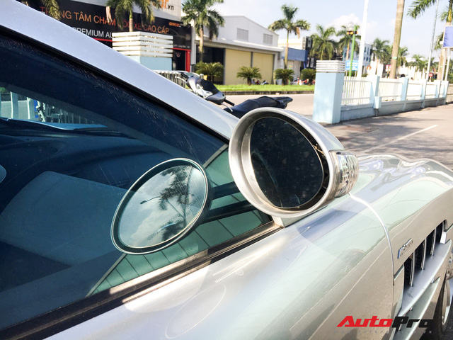 Bắt gặp Mercedes-Benz SLR McLaren độc nhất Việt Nam đi bảo dưỡng - Ảnh 6.