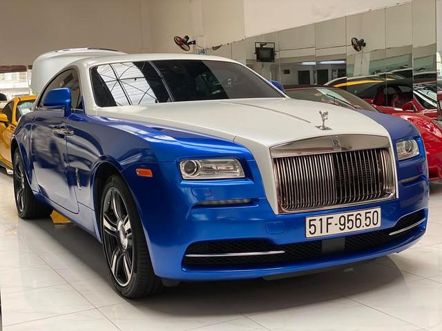 Đại gia Việt biến Rolls-Royce Wraith theo phong cách như dân chơi Trung Đông - Ảnh 1.