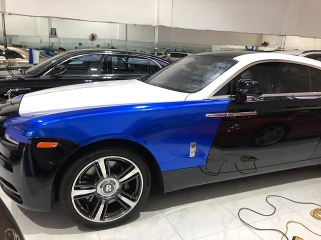 Đại gia Việt biến Rolls-Royce Wraith theo phong cách như dân chơi Trung Đông - Ảnh 3.