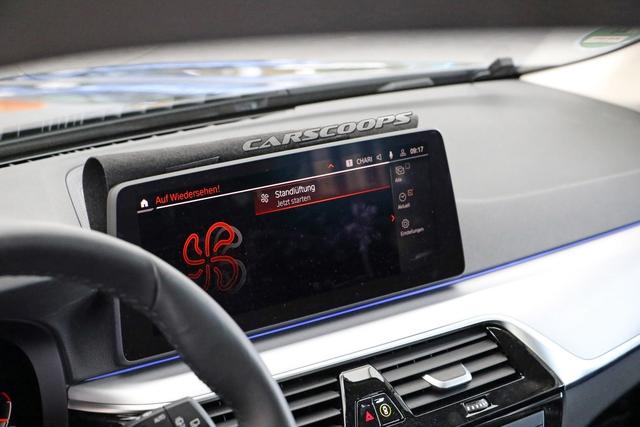 BMW 5-Series 2020 lần đầu lộ nội thất: Có trang bị như 8-Series - Ảnh 1.