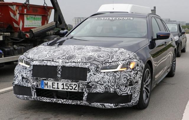 BMW 5-Series 2020 lần đầu lộ nội thất: Có trang bị như 8-Series - Ảnh 2.