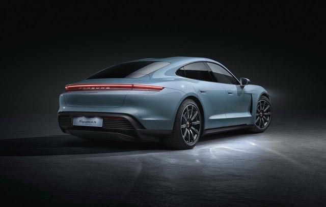 Porsche chính thức giới thiệu bản giá rẻ cho Taycan, vẫn mạnh hơn 911 GT3 - Ảnh 4.