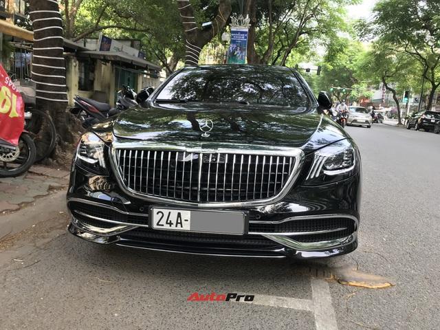 Mercedes-Maybach S 650 hàng hiếm của đại gia Lào Cai gặp nạn tại Hà Nội - Ảnh 6.