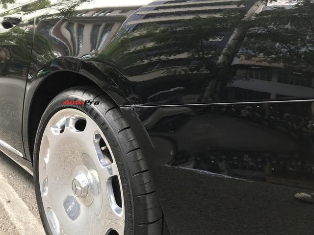 Mercedes-Maybach S 650 hàng hiếm của đại gia Lào Cai gặp nạn tại Hà Nội - Ảnh 3.