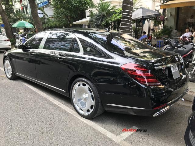 Mercedes-Maybach S 650 hàng hiếm của đại gia Lào Cai gặp nạn tại Hà Nội - Ảnh 8.