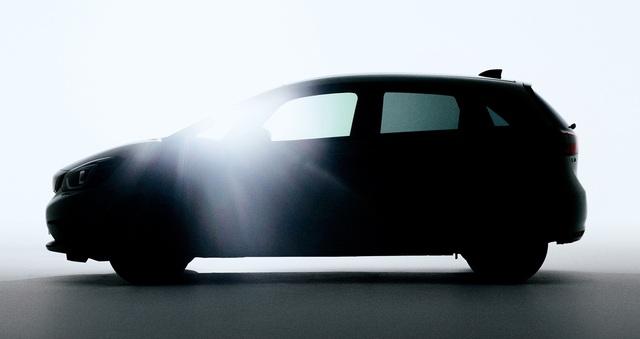 Toyota Yaris vừa ra mắt, Honda Jazz 2020 đã kịp nhá ảnh chính thức đầu tiên - Ảnh 1.