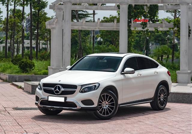 Mới chạy 20.000 km, hàng hiếm Mercedes-Benz GLC 300 Coupe rao bán với giá rẻ hơn cả tỷ đồng