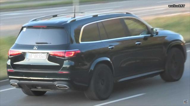 Đấu Rolls-Royce Cullinan, Mercedes-Maybach GLS tiếp tục lộ nội, ngoại thất - Ảnh 2.