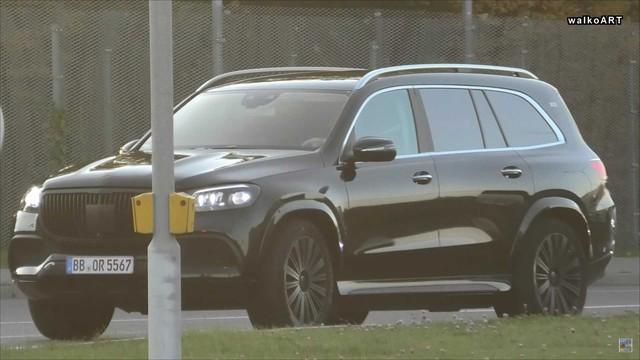 Đấu Rolls-Royce Cullinan, Mercedes-Maybach GLS tiếp tục lộ nội, ngoại thất - Ảnh 1.