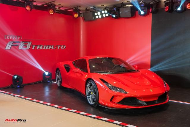 Đánh giá nhanh Ferrari F8 Tributo giá đồn đoán 30 tỷ đồng – siêu xe khiến nhiều đại gia Việt thèm muốn
