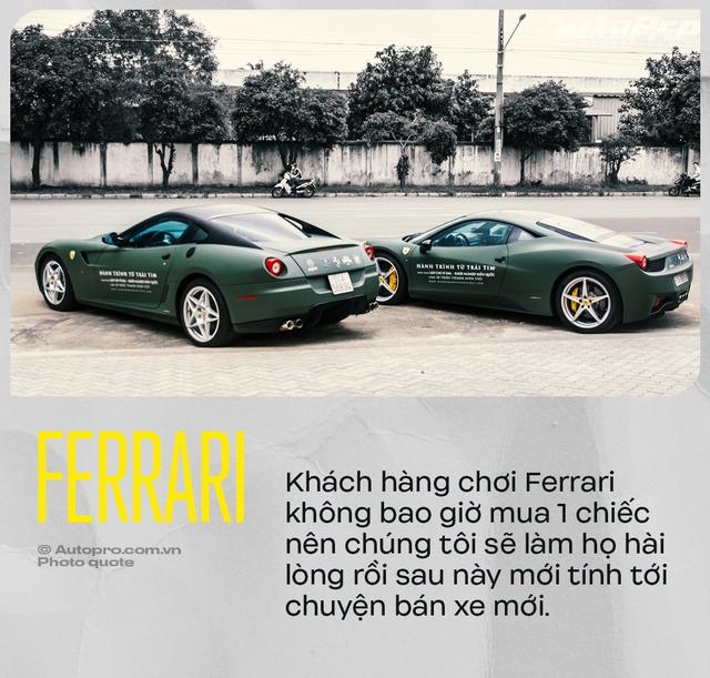 Ferrari bật mí lý do bán xe cũ trước, tiết lộ 190 bước kiểm tra và cách chiều đại gia Việt để bán xe mới - Ảnh 2.