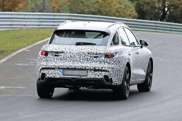 Genesis GV70 lần đầu lộ ảnh chạy thử - xe Hàn tham vọng đối đầu Mercedes GLC và BMW X3 - Ảnh 3.