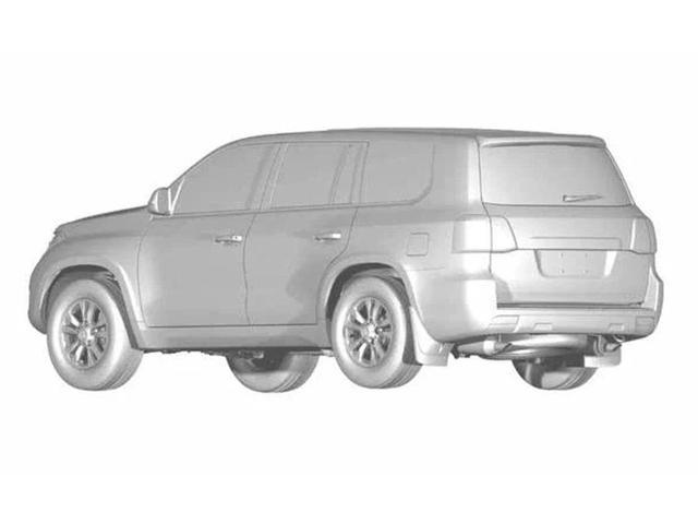 SUV mới của Trung Quốc sắp ra mắt, nhìn nét vẽ sương sương là biết nhái Toyota Land Cruiser - Ảnh 1.