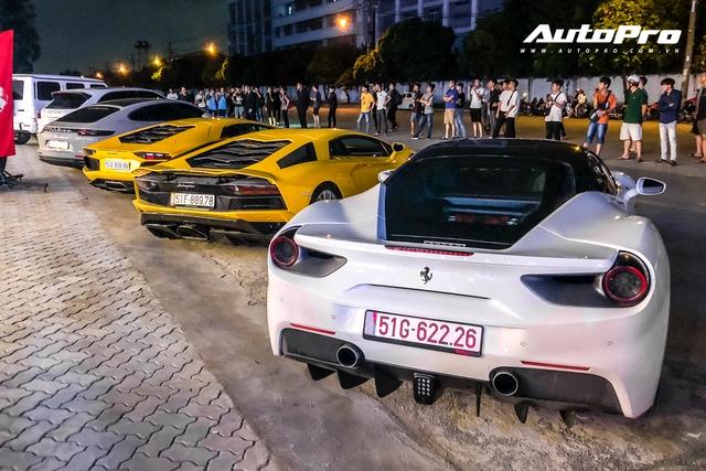 Dàn siêu xe, xe thể thao 100 tỷ của đại gia Việt tới dự lễ khai trương showroom Ferrari - Ảnh 8.