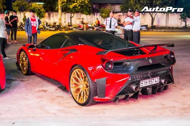Dàn siêu xe, xe thể thao 100 tỷ của đại gia Việt tới dự lễ khai trương showroom Ferrari - Ảnh 7.